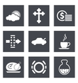 Icons for Web Design set 31 vector image