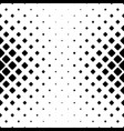 monochromatic square pattern background - black vector image vector image