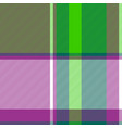 purple green color check fabric texture seamless vector image