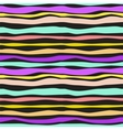 Color Waves Lines Seamless Background vector image