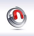3d n letter icon