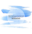 Blue watercolor background black text white circle vector image vector image
