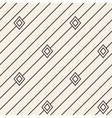 Diagonal stripped geometric seamless pattern vector image vector image