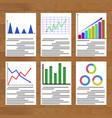 Finance infographic and analytics