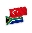 flags turkey and republic south africa