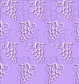grape abstract pattern vector image vector image