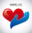 hand care design vector image vector image
