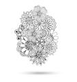 Henna Paisley Mehndi Abstract Element vector image vector image