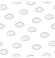 interesting seamless pattern with cute sleeping vector image vector image