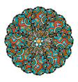 Mandala ethnic ornament vector image