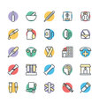 Medical and Health Cool Icons 3 vector image vector image