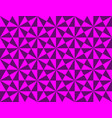 abstract geometric pattern with triangles and vector image vector image
