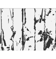 Black and white old wooden texture vector image vector image