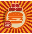 cartoon fast food design design vector image