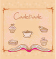 Cookbook - vector image vector image