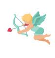 cupid amur baby angel vector image vector image