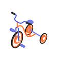 isometric bicycle vector image