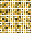 Mosaic with square green background vector image vector image