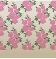 Rose elegant vintage seamless pattern vector image vector image
