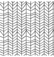 Seamless stylish hand drawn pattern vector image vector image