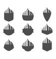 Set of logos city vector image