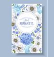 Blue anemone banner
