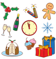 Christmas icon vector image vector image