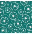 dandelion motif pattern vector image