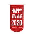 happy new year 2020 banner design vector image vector image