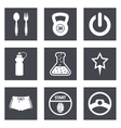 Icons for Web Design set 41 vector image vector image