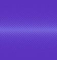 purple geometric halftone ellipse pattern vector image vector image