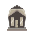 home icon house isolated real estate residential vector image