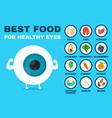Best food for healthy eye strong eyeball