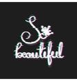 Queen Card Housewarming design vector image