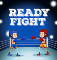 Read to fight design vector image
