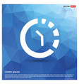 repeat time icon vector image vector image