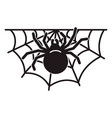 spider home icon simple style vector image
