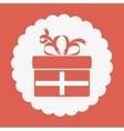 surprise gift design vector image