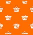 women beach bag pattern seamless vector image vector image