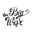 big wave vector image
