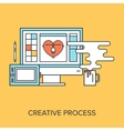 Creative Process vector image
