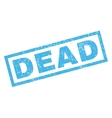 Dead Rubber Stamp vector image vector image