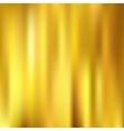 Golden metallic background gradient mesh vector image vector image