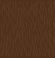 hand drawn brown animal fur texture seamless vector image vector image