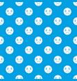 sad emotpattern seamless blue vector image
