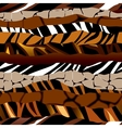 Striped pattern of fells vector image vector image