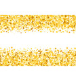 border with shimmer stars gold sparkle golden