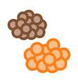caviar heaps icon outline vector image vector image