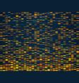 genomic visualization dna genomes sequencing data vector image vector image