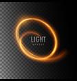 neon light glowing effect vector image